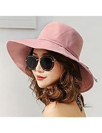 593dc81b3b297 Qchomee - Sombrero plegable con forma de sombrero de sol UPF 50 + cubo  gorra amplia