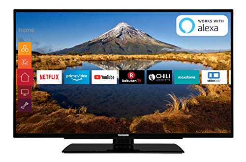 98 cm (39 Zoll) Fernseher (Full HD, Triple Tuner, Smart TV, Prime Video, Works with Alexa) ()