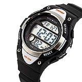 Uhren,Kinder Uhren,Teenager Uhren,Digitale Multifunktionale Uhren für den Outdoor und Sport.Wasserdichte elektronische Armbanduhr für Jugendliche Kinder mit Digitaler Anzeige,LED-Licht,Wecke