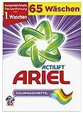 Ariel Pulver Colorwaschmittel, 4,23 kg, 1er Pack (1 x 65 Waschladungen)