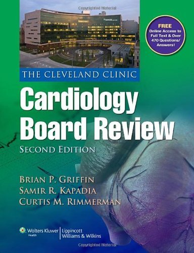 The Cleveland Clinic Cardiology Board Review by Brian P. Griffin MD FACC (2012-07-23)