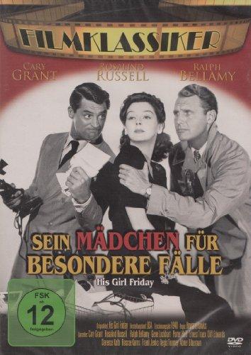 Bild von Sein Mädchen für besondere Fälle (His Girl Friday - 1940) [DVD]