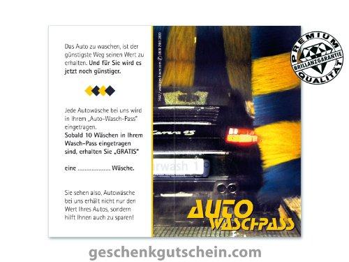 500 Stk. Auto-Waschpässe für Tankstellen, Autozubehör TK47 -