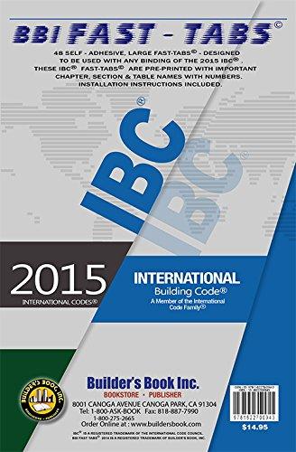 2015 International Building Code Fast-Tabs