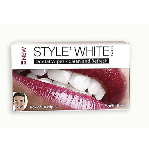 Dents Blanches De Style 'Blanchissant Lingettes 10 Par Paquet