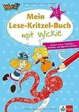 Mein Lese-Kritzel-Buch mit Wickie: fördert Lesen, Schreiben, Rechnen und logisches Denken