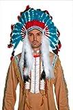 Smiffys Déguisement Homme, Coiffe amérindienne, 36150