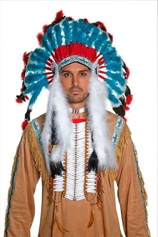 Authentische Western Kollektion Indianer-Kopfschmuck, One Size