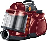 Electrolux espc72rr Silent Performer Cyclonic Aspirateur sans Sac, technologie turbociclonica, système Silence Pro, ergoshock, filtration Clean Air, Raspberry Red