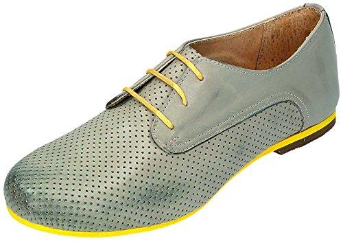MICCOS Shoes Chaussures pour Femme Sportif D. Chaussures basses Gris - Gris