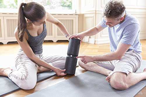 Liebscher & Bracht FAYO Set, Faszienrolle und Kugelrolle, ideal für Selbstmassage und Faszientraining, 2er Set - 4