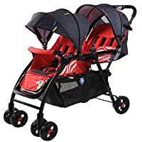 Bfg Boots Twin Baby Strollers, Travel System, Can Sit Reclining High Landscape Children