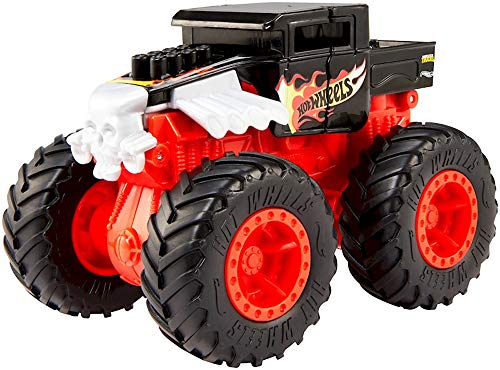 NEU Hot Wheels Bash Ups Monster Truck 1:43 Die-Cast Auto Fahrzeug (Bone Shaker)