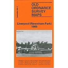 Liverpool (Newsham Park) 1905: Lancashire Sheet 106.11 (Old O.S. Maps of Lancashire)