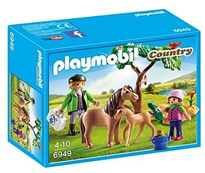 Playmobil - 6949 - Vétérinaire avec Enfants et Poneys