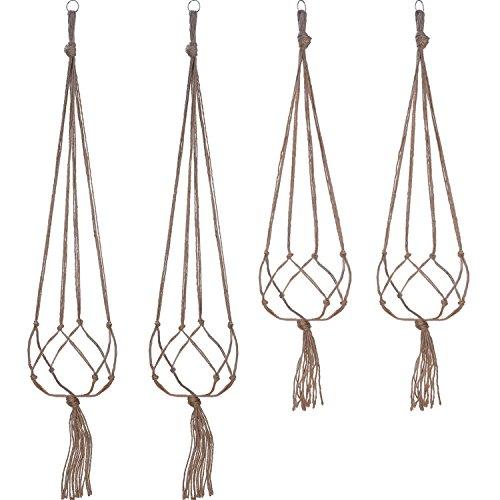 4 Piezas Soporte de Macetas, 2 Piezas 105 cm y 2 Piezas 88 cm