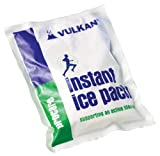 Vulkan Instant Ice Pack, Cold Therapy Ice Packs for Sports Injuries, Sprains, Swelling, and Pain Relief, Instant Cold Pack for First Aid, Easy Activation, Ideal for Emergencies, 24 x 15 cm