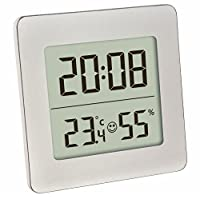 Blooming Weather 30.5038.54 Digital Thermo-Hygrometer - Silver
