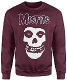 Unisex-Sweatshirt Misfits Classic - Set-In Sweatshirt LaMAGLIERIA, L, Burgundy