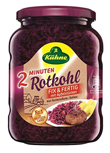 Kühne Rotkohl Fix und Fertig - Der Schnelle, 12er Pack (12 x 720 ml)