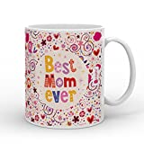 Best Mom Coffee Cups - Indigifts Mother's Day Special Best Mom Ever Quote Review