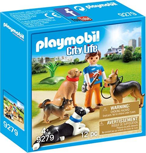 Playmobil- Adiestrador de Perros Juguete