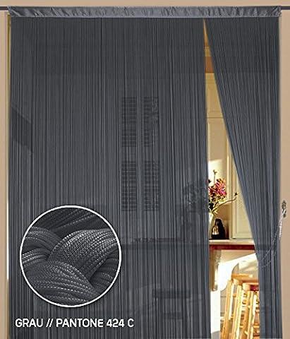 Fadenvorhang 90 cm x 240 cm (BxH)