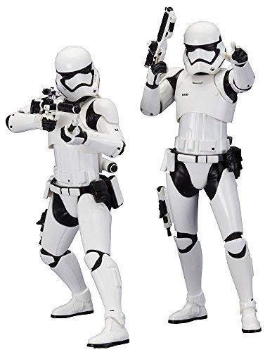 Star Wars ArtFX First Order Stormtrooper Sammler-Statuen, M 1: 10,Set von 2Stück (Regal Star Wars Kostüm)