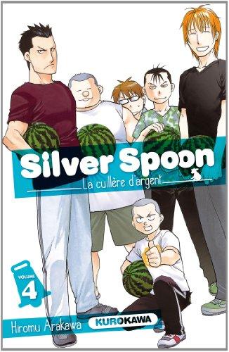 Silver Spoon - La cuillère d'argent Edition simple Tome 4
