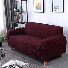 Elástico Enrejado Antideslizante La cubierta del sofá, Cubierta completa Espesar Color sólido Castillos hinchables Cubierta
