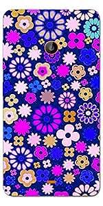 SEI HEI KI Designer Back cover for Microsoft Lumia 540-Multicolor