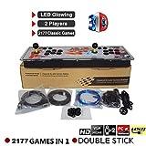 ckground Arcade-Videospielkonsole 2177 HD Retro-Spiele Büchse der Pandora 7 Jamma 1080HD Arcade Machine Support 2 Spieler Arcade-Joystick -