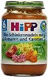 Hipp Bio-Schinkennudeln mit Tomaten und Karotten