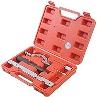 CCLIFE Set de herramientas de Bloqueo Cadena distribución Herramienta Bloqueo Levas Regla OPEL Astra Corsa Agila 1.0 1.2 1.4