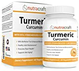 Turmeric Curcumin 1300mg Supplement with Bioperine – 100% Money Back Guarantee - Highest Potency 95% Standardized Curcuminoids – Premium Anti-Inflammatory & Joint Support – 60 Vegetable Capsules