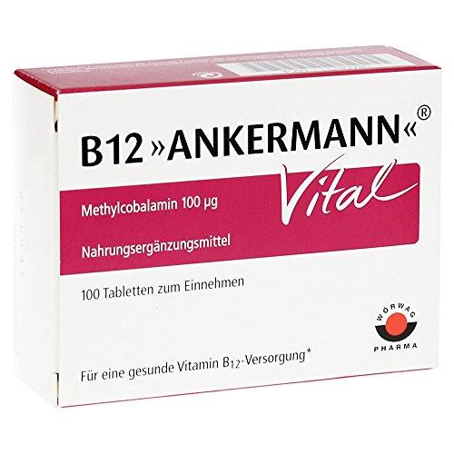 Vital-tablette, Vitamine (B12 Ankermann Vital, 100 St. Tabletten)