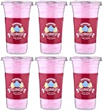 #8: Angels Floss Cotton Candy's/Candy Floss/Buddhi Ke Baal - Bubble Gum Flavour - 30 GMS Each - Pack of 6 Units