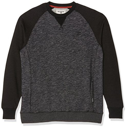 G.S.M. Europe - Billabong Herren Balance Crew Sweatshirt dark grey heath