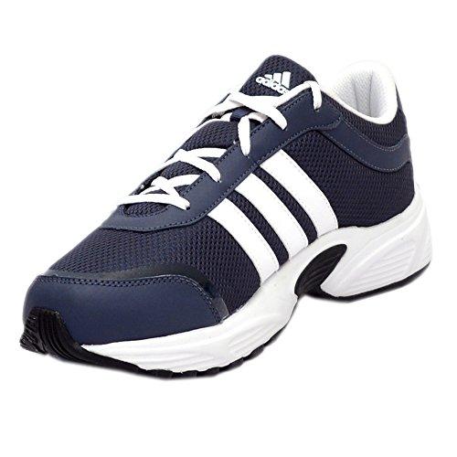 Adidas Men's Tark M Urban Sky, White and Black Mesh Running Shoes - 8 UK