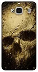 The Racoon Grip Skulls hard plastic printed back case / cover for Xiaomi Redmi 2 Prime