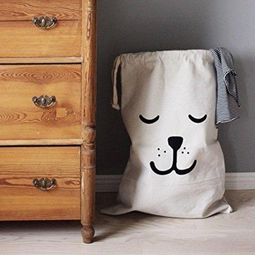 Dngdom Wäschesack Wäsche Tasche Sammler Sortierer Sack (1)