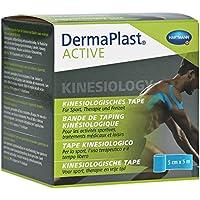 DERMAPLAST Active Kinesiology Tape 5 cmx5 m blau 1 Stück preisvergleich bei billige-tabletten.eu