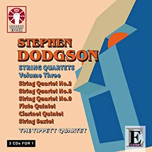 Dodgson: String Quartets Vol 3