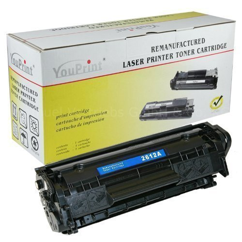 YouPrint® Toner für Q2612A passend zu HP Laserjet 1010 1012 1015NS 1018...