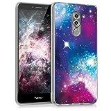 kwmobile Huawei Honor 6X / GR5 2017 / Mate 9 Lite Hülle - Handyhülle für Huawei Honor 6X / GR5 2017 / Mate 9 Lite - Handy Case in Mehrfarbig Pink Schwarz