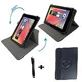 DENVER TAQ 10133 / 10.1 ' Tablet Pc Tasche mit 360 grad Drehfunktion - 10 Zoll Schwarz 360