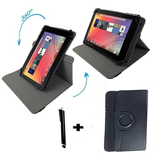 """Odys Orbit LTE Phablet 17,65 cm (6,95"""") Tablet Pc Tasche mit 360 grad Dreh & Standfunktion - 6 -6,95 Zoll Schwarz 360"""