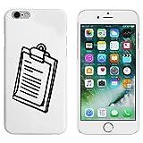 Blanc 'Presse-Papiers' étui / housse pour iPhone 6 & 6s (MC00054542)