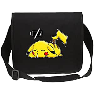 sac bandouli re manga parodie pikachu de pok mon batterie plat sac bandouli re. Black Bedroom Furniture Sets. Home Design Ideas