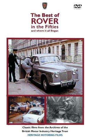 Preisvergleich Produktbild Best of Rover in the 50s DVD - Rover 90 P4 & 3 litre P5 * NEW